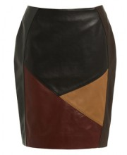 ELLE PANEL SKIRT IN BLACK