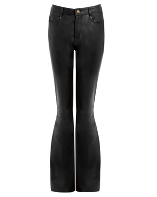 KENDALL FLARE TROUSER IN BLACK