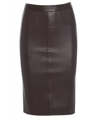 BORDEAUX CLASSIC PENCIL SKIRT