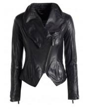 Black Cab Cowl Neck Jacket