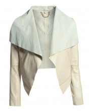 Cream Puff Waterfall Jacket