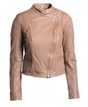 Timber Stand Collar Biker Jacket