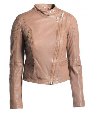 Timber Stand Collar Biker Jacket